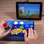 SunFounder Raspberry Pi Retro Game Box DIY Arcade Fighting Joystick Push Buttons Controller for RetroPie Raspberry Pi 3/2/B+ with TF 8g Card de la marque SunFounder image 1 produit