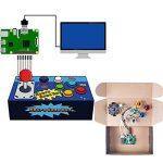SunFounder Raspberry Pi Retro Game Box DIY Arcade Fighting Joystick Push Buttons Controller for RetroPie Raspberry Pi 3/2/B+ with TF 8g Card de la marque SunFounder image 2 produit