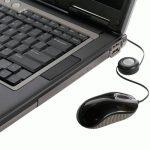 Targus Souris optique USB avec cordon rétractable Noir/Gris de la marque Targus image 1 produit