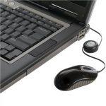 Targus Souris optique USB avec cordon rétractable Noir/Gris de la marque Targus image 4 produit