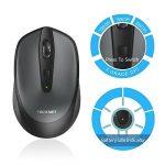 TeckNet Omni Mini souris sans fil 2.4G sans fil souris sans fil Wireless Mouse, 3sonore: 2000/1500/1000dPi de DPI réglable, 18mois d'autonomie, Nano Récepteur de la marque TeckNet image 1 produit
