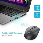 TeckNet Omni Mini souris sans fil 2.4G sans fil souris sans fil Wireless Mouse, 3sonore: 2000/1500/1000dPi de DPI réglable, 18mois d'autonomie, Nano Récepteur de la marque TeckNet image 3 produit