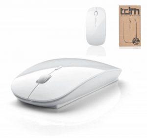 Tedim Souris optique sans fil pour Apple Mac Book, PC Windows et ordinateurs portables 3boutons Micro USB Blanc de la marque tedim® image 0 produit