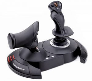 ThrustMaster Joystick T.Flight Hotas X - Joystick avec manette des gaz détachable et configuration directe pour décollage immédiat - PC de la marque ThrustMaster image 0 produit