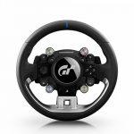 Thrustmaster T-GT Volant Gainé de Cuir, sous Licences Officielles PS4 et Gran Turismo, Compatible PC de la marque ThrustMaster image 1 produit