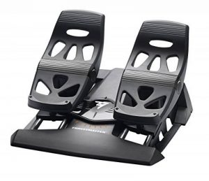 Thurstmaster - Tfrp - T.Flight Rudder Pedals - Palonnier ergonomique pour PS4 / PC/ XBOX ONE de la marque ThrustMaster image 0 produit