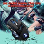 TOPELEK Souris Gamer【Tapis de Souris offert】, Souris Gaming Professionnel 5500 DPI Jeux de Souris Joueur, LED Optique Gaming Mouse 7 Boutons pour Ordinateur Portable, Joueurs, Gamer - 1000 DPI (Rouge)/ 1600 DPI (Vert)/ 2400 DPI (Bleu)/ 3200 DPI (Violet)/ image 6 produit