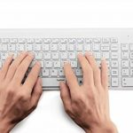 TopMate KM9000 Ensembles Clavier et Souris Sans Fil pour PC et ordinateur portable (AZERTY,Blanc) de la marque Topmate image 2 produit