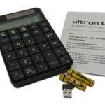 Ultron UN-1 (101194) sans fil (2,4 GHz) Pavé numérique calculateur intégré et le panneau solaire de la marque Ultron image 4 produit