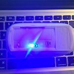 UrChoiceLtd® Adaptateur Sans Fil 2.4GHz Ergonomique Incurvé Usb Sans Fil Optique Souris Pour Pomme Macbook Air Pro PC Portable de la marque UrChoiceLtd® image 6 produit