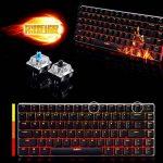 Urchoiceltd® Ajazz Geek Ak33Anti-ghosting LED rétro-éclairé USB filaire clavier de jeu mécanique Bleu/noir commutateurs pour bureau, Écrivent et jouer à des Jeux de la marque UrChoiceLtd® image 1 produit