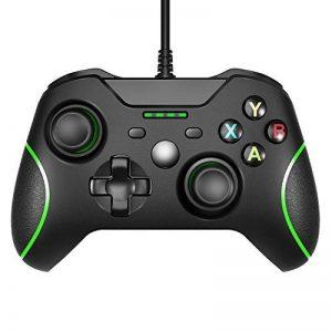 USB filaire Xbox One Controleur manette Gamepad Joypad Ergonomisches Design Für Xbox One PC Schock Vibration de la marque Safecar image 0 produit