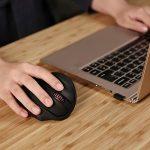 【Version Améliorée】AUKEY Souris Ergonomique Sans Fil 2,4 GHz Plus Confortable que Souris Verticale avec Nano Récepteur USB, 6 DPI Réglable, 5 boutons pour PC, Ordinateur Portable, Macbook de la marque AUKEY image 4 produit
