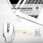 VicTsing 2.4G Souris sans fil avec Récepteur Nano 6 Boutons 2400 DPI (5 Niveaux Réglables) -- Blanc de la marque VICTSING image 2 produit