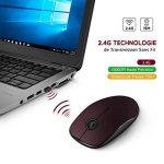 VICTSING 2.4G Souris Sans Fil avec Récepteur Nano, Clic Silencieux et Anti-bruit avec 1600 DPI pour PC, Ordinateur Portable, Ordinateur de Bureau et MacBook de la marque VICTSING image 1 produit