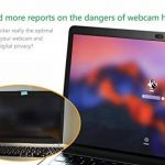 Webcam Cover métal coulissant par Cloudvalley, Web Camera Cover Ultra-fine pour MacBook Pro, Surfcase Pro, Laptop, Housse de confidentialité protection de votre vie numérique [noir] de la marque CloudValley image 4 produit