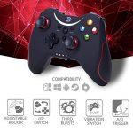ZD-T[2.4G] - Manette de Jeu sans Fil, Compatible pour Steam,Nintendo Switch,fire tv,PC(Win7-Win10),Android Tablet,TV BOX etc. de la marque Zhidong image 1 produit